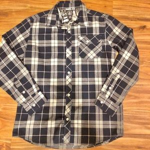 Big kids XL size Volcom flannel shirt